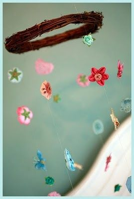 Creative Handmade Baby Mobile from