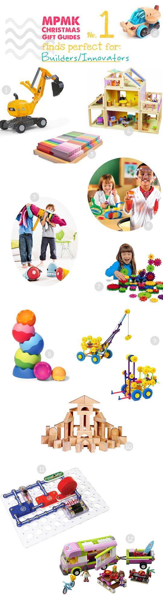 Check out a full list of 19 finds for little builders/innovators.