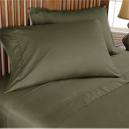 300 TC Deluxe Ultra Soft Silky 100% Egyptian cotton 2 piece Luxurious Pillow covers 300 THREAD COUNT Twin XL Olive solid by pearlbedding. $31.99. Experience true luxury when you sleep on these Eqyptian cotton Pillowcases.. THREAD COUNT/MATERIAL: 300TC , 100% Egyptian Cotton. Enjoy comfort and durability.. This is 2 PILLOWCASES only. Excellent value for money.. Extra Comfortable and most Contemporary Pillowcases.. Brand New and Factory Sealed. No Ironing Necessary. Super Sof...