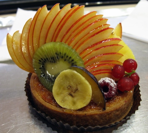 fruit tart!