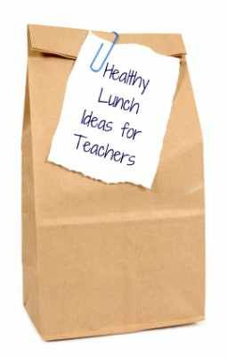 Healthy School Lunches for Teachers