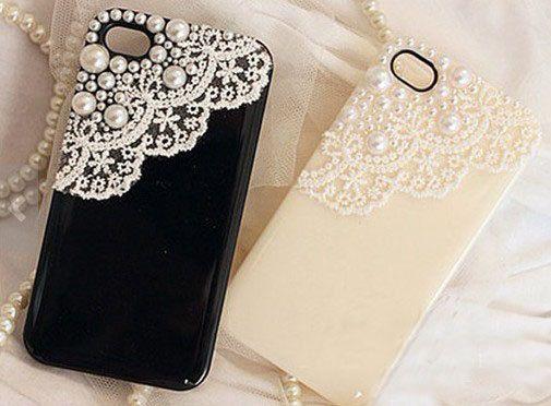 iPhone 5 Case, iPhone 5s Case, iPhone 4 Case, Cute iphone 4s case, cute iphone 5 case, Lace iphone 4 case, iphone 5 case lace, iphone 5