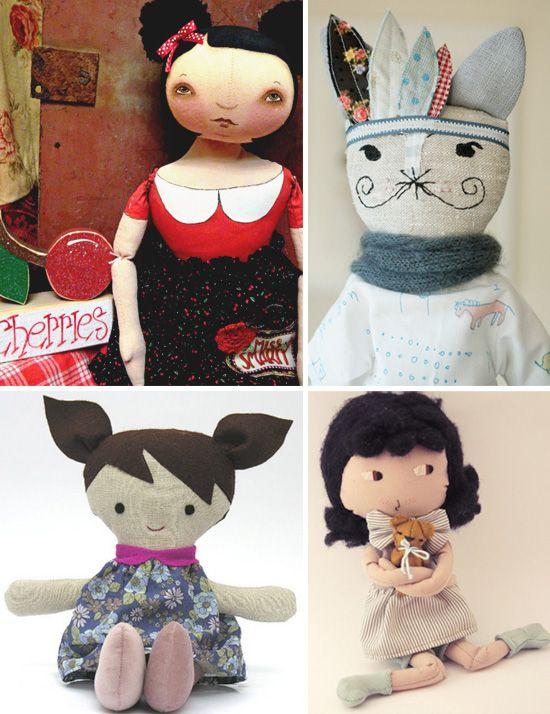 The sweetness of handmade dolls