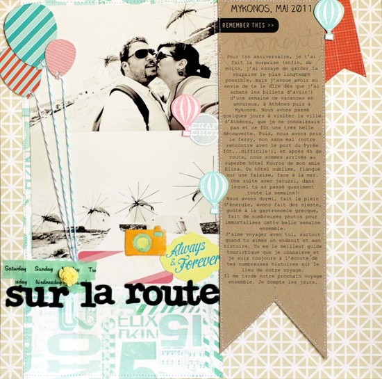 layout featuring HEYDAY by @Céline Navarro