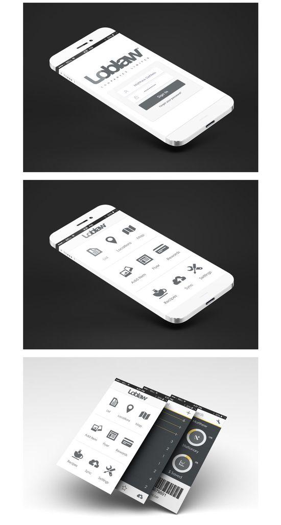 Mobile UI design inspiration - Loblaw's Smart App