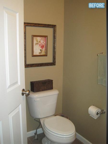 Bathroom decor before