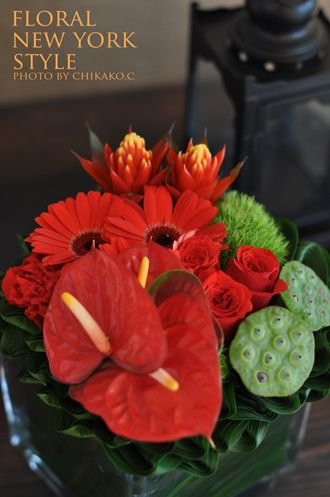 Fresh Flower Arrangement #54 by FLORAL NEW YORK, via Flickr