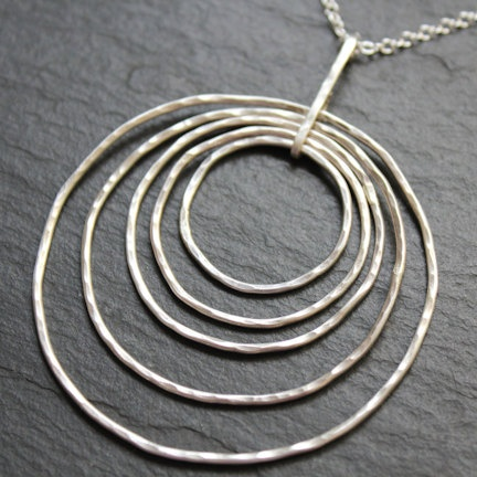 Concentric Necklace by SES Design Jewelry on Etsy