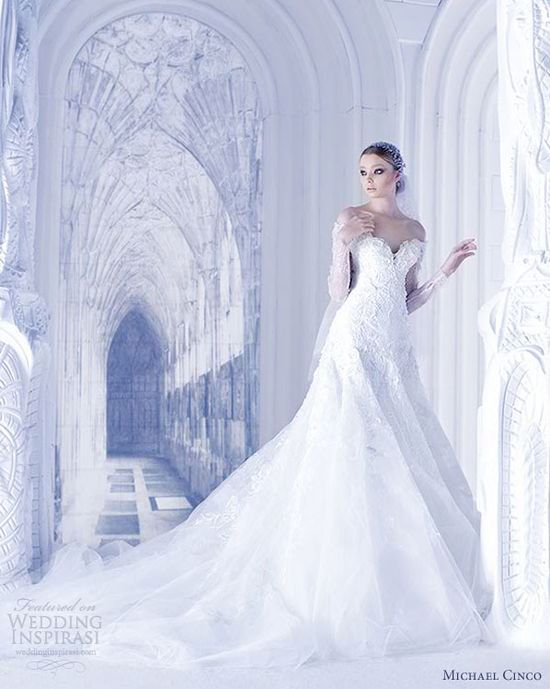 michael cinco bridal couture spring summer 2013 wedding dress
