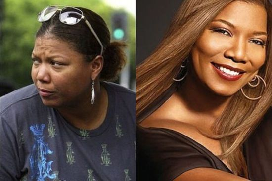 Queen Latifah without makeup
