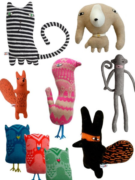 love these unusual looking stuffed animals