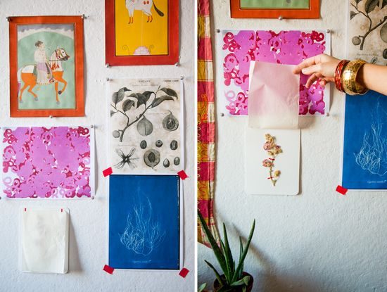 #thinkcolorfully studio wall