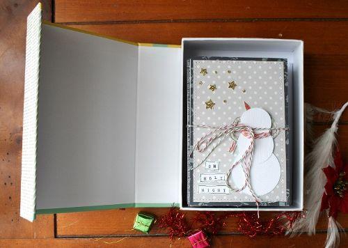 Handmade gift card set