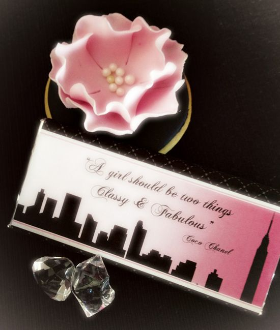 Fabulous Chanel & Sex and the City Dessert Table – So True!
