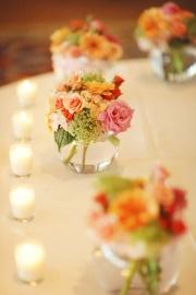 cute flower arrangement for mini flowers