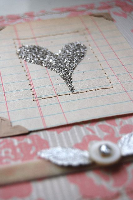 heart of glitter