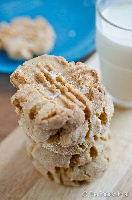 Peanut Butter Cookies ......  Soft and Chewy Peanut Butter Cookies (Made these today and they were awesome!)