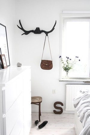 antlers #EPiC #interiors #decor #natural #beautiful #artful #design #products #cheap