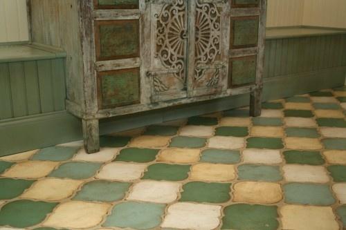gorgeous painted floor #paintedfloors #painted #floors #flooring