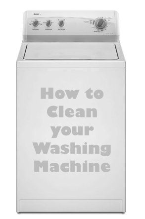 Did you know? You should clean your washer at least once a month!