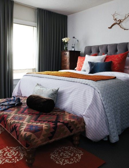 Karen Cole's Bedroom // Photographer Angus Fergusson // House & Home March 2011 issue