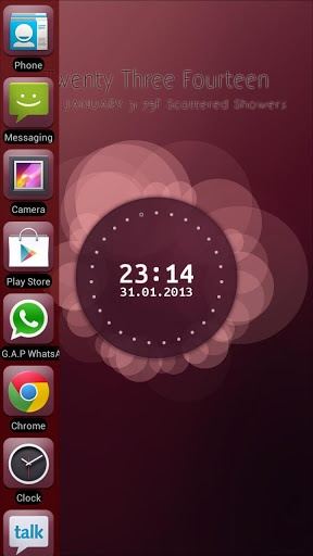 Unity Launcher v2.5  Requirements: 2.2 and up  Overview: Liked Ubuntu Phone? Have you seen Ubuntu Phone Edge Launcher?