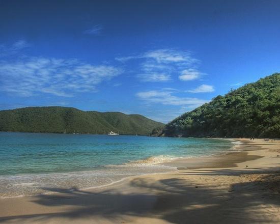 Caribbean Beach, Cinnamon Bay Photograph   #Briole