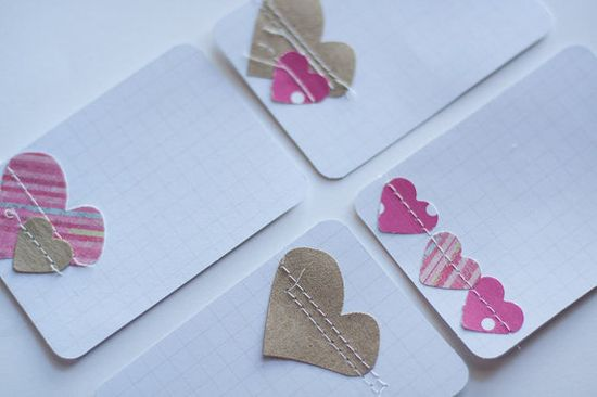 project life journal cards for valentine's day