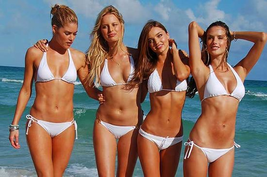 Victoria's secrets models bodies