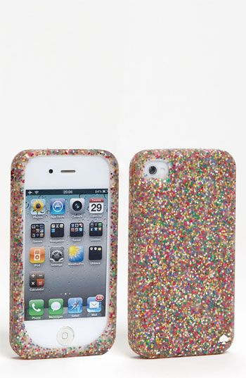 kate spade new york glitter iPhone 4 & 4S case available at #Nordstrom