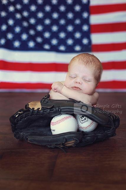 baby baseball photo idea