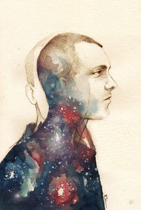 My astronaut by *elia-illustration