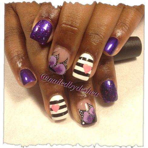 fairy nails by Mamashea5 - Nail Art Gallery nailartgallery.na... by Nails Magazine www.nailsmag.com #nailart