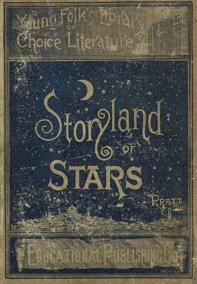 Storyland of Stars ... vintage childrens  book