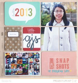 Project Life 2013 Title *PL Kit Only* by qingmei at Studio Calico