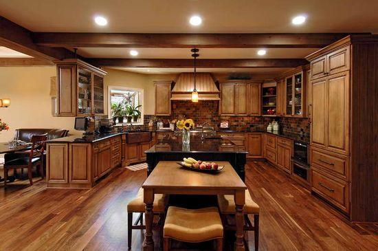design a kitchen remodel with hardwood floors