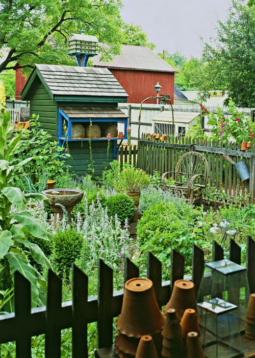Garden love.