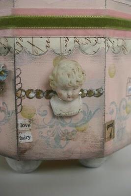 Vintage doll box
