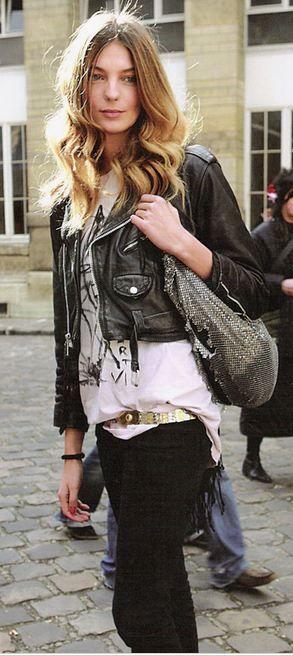 Rock 'n' Roll Style Daria Werbowy
