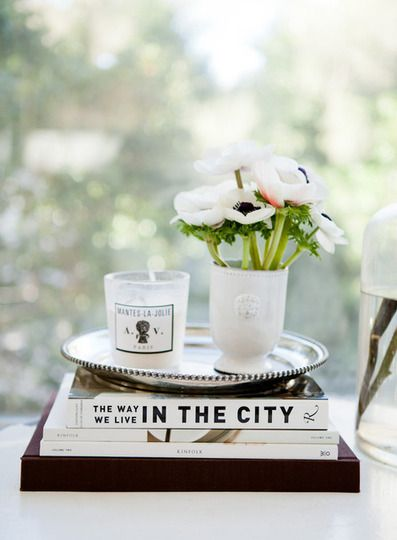 chic tabletop decor