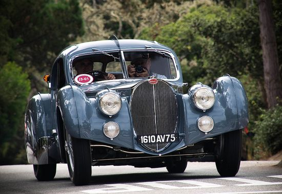 Bugatti 57SC Atlantic    The most expensive car in the world...on the street.