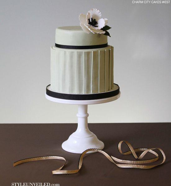 Frances by Charm City Cakes West / wedding cake / via Style Unveiled