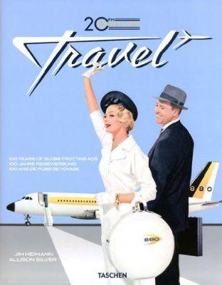 Retro travel advertising