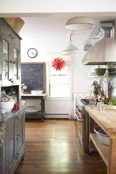 modern & vintage kitchen