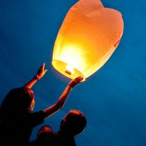 Globos de luz / skylanterns