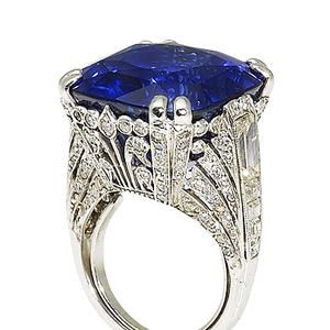 Sapphire and diamond ring by Chantecler