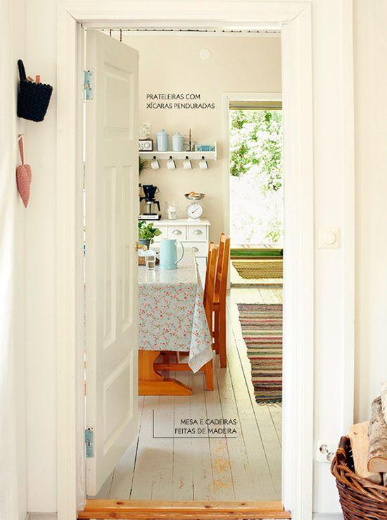 The charm of the simply and cozy decoration. #charm #kitchen #interior #design #decor #casadevalentina