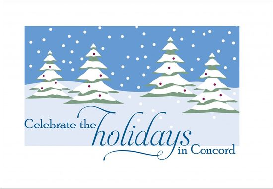 Holiday events in Concord MA
