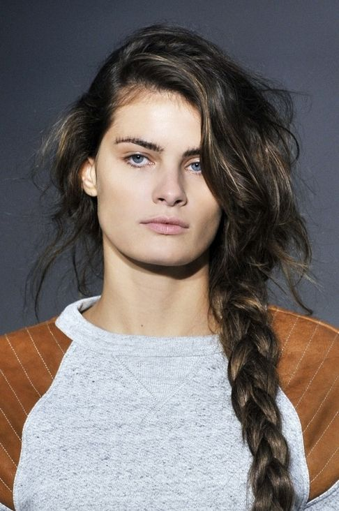 Messy braid & other beauty styles your man will love