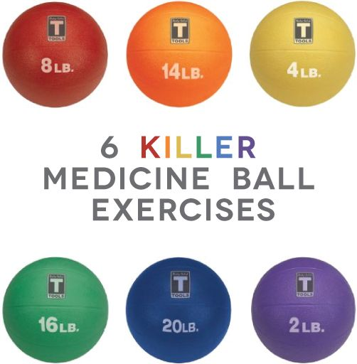 "Keeping that eye on the"" staying fit through the holidays"" prize! FEEL THE BURN: 6 killer medicine ball exercises"